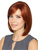 cheap -Synthetic Wig Curly Asymmetrical Wig Long Golden Brown Synthetic Hair 11 inch Women's Best Quality Brown