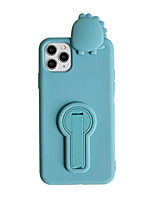cheap -Case For Apple iPhone 11 / iPhone 11 Pro / iPhone 11 Pro Max Shockproof / with Stand Back Cover Solid Colored / Animal / Cartoon TPU