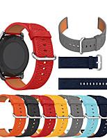 abordables -bracelet de montre en cuir de luxe pour montre lg g w100 / r w110 / urbain w150 / ticwatch e2 / ticwatch s2 / ticwatch pro bracelet remplaçable bracelet dragonne bracelet