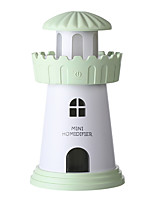 cheap -Office Leisure Car Portable USB Air Purifier Mute Humidification Deep Moisture Reduce Dust Purification Air Night Light Romantic Atmosphere Light
