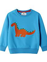 cheap -Kids Boys' Street chic Solid Colored Long Sleeve Hoodie & Sweatshirt Light Blue