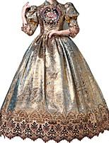 cheap -Dance Costumes Dresses Women's Performance Terylene Pattern / Print 3/4 Length Sleeve Dress