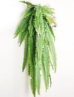 abordables -fleurs artificielles 1 branche classique moderne plantes mur fleur