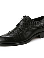 cheap -Men's Formal Shoes PU Fall & Winter Oxfords Black / Yellow / Red
