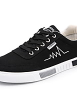 cheap -Men's Comfort Shoes Mesh Fall & Winter Sneakers Black and White / Black / Red / Gray
