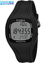 cheap -SYNOKE Digital Watch Digital Sporty Stylish Silicone 30 m Water Resistant / Waterproof Calendar / date / day LCD Digital Outdoor Fashion - Black White Green