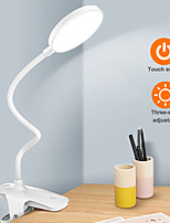 cheap -Desk lamp bedroom ins girl eye protection desk student creativity Nordic dormitory rechargeable plug-in dual-use capacity desk lamp