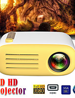 cheap -WAZA YG200  USB HDMI AV SD Mini Portable HD LED LCD Projector Beamer Home Media Movie Player Support 1080P AV USB SD Card 320 x 240 HDMI / USB / AV / CVBS for Home School Office