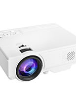 cheap -WAZA YF03 USB HDMI AV SD Mini Portable HD LED LCD Projector Beamer Home Media Movie Player Support 1080P AV USB SD Card 320 x 240 HDMI / USB / AV / CVBS for Home School Office