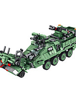 cheap -Building Blocks 92 pcs Military compatible Legoing Simulation Climbing Car All Toy Gift / Kid's