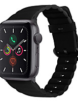 abordables -Bracelet de montre pour Apple Watch Series 5/4/3/2/1 Apple Sport Band / Business Band Bracelet en cuir véritable