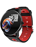 cheap -Smartwatch Digital Modern Style Sporty Silicone 30 m Water Resistant / Waterproof Heart Rate Monitor Bluetooth Digital Casual Outdoor - Black / Blue Black / Green Black / Red