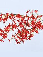 abordables -Fleurs artificielles 1 Une succursale Classique Moderne Plantes Fleur de Table