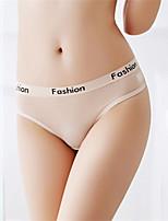 cheap -Women's Lace G-strings & Thongs Panties Low Waist Black White Fuchsia One-Size