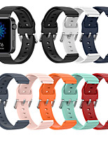 cheap -Watch Band for Mi watch Xiaomi Classic Buckle Silicone Wrist Strap