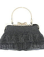 cheap -Women's Chain Synthetic Evening Bag Black / Gold / Silver