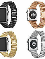 abordables -Bracelet de montre pour Apple Watch Series 5 / Apple Watch Series 5/4/3/2/1 / Apple Watch Series 4 Apple Sport Band / boucle moderne / bracelet d'affaires bracelet en acier inoxydable