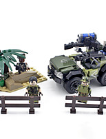 cheap -Building Blocks 185 pcs Military compatible Legoing Simulation Climbing Car All Toy Gift / Kid's