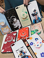 cheap -Case For Apple iPhone 11 / iPhone 11 Pro / iPhone 11 Pro Max Shockproof / Dustproof / with Stand Back Cover Animal / Cartoon / Flower PC