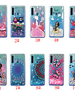 cheap -Case For Samsung Galaxy S9 / S9 Plus / S8 Plus Flowing Liquid / Pattern Back Cover Cartoon TPU