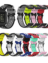 cheap -Watch Band for Fitbit Versa / Fitbit Versa Lite / Fitbit  Versa 2 Fitbit Sport Band Silicone Wrist Strap
