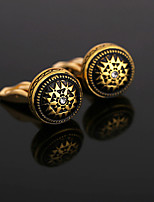 cheap -Cufflinks Formal Fashion Brooch Jewelry Golden For Gift Daily