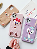 cheap -Case For Apple iPhone 11 / iPhone 11 Pro / iPhone 11 Pro Max Shockproof Back Cover Cartoon Silica Gel