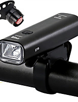 abordables -LED Eclairage de Velo Eclairage de Vélo Avant Eclairage sécurité / feu clignotant velo LED Vélo Cyclisme Sortie de charge USB Largage rapide Durable Batterie au lithium 360 lm Batterie rechargeable