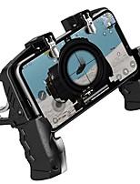 abordables -K21 contrôleur de jeu manette de jeu joystick déclencheur en métal auxiliaire bouton de prise de vue rapide poignée ergonomique pour pubg téléphone mobile universel