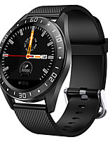 cheap -Smartwatch Digital Modern Style Sporty Silicone 30 m Water Resistant / Waterproof Heart Rate Monitor Bluetooth Digital Casual Outdoor - Black Black / Silver Orange