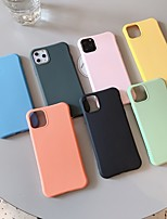cheap -Case For Apple iPhone 11 / iPhone 11 Pro / iPhone 11 Pro Max Shockproof / Ultra-thin Back Cover Solid Colored PC