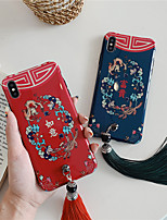 cheap -Case For Apple iPhone 11 / iPhone 11 Pro / iPhone 11 Pro Max Shockproof / IMD / Pattern Back Cover Flower TPU for iPhone X XS XR XS MAX 8 8PLUS 7 7PLUS 6 6PLUS 6S 6S PLUS