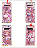 cheap -Case for Samsung scene map Samsung Galaxy S10 S10e S10 Plus A50 A70 Dumeng cartoon pattern TPU material all-inclusive mobile phone case
