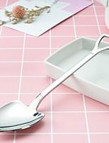 abordables -1 article cuillère Vaisselle Métal Cool