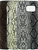 cheap -Case For Samsung Galaxy S6 edge / S6 / S4 IMD / Pattern Back Cover Solid Colored / Animal PU Leather / PC