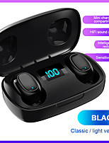 cheap -LITBest T10S TWS True Wireless Earbuds Wireless Sport Fitness Bluetooth 5.0 Stereo Dual Drivers with Microphone