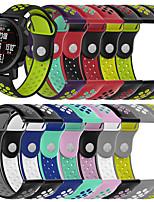 abordables -bracelet smartwatch pour huami amazfit gtr 42mm / bip younth montre / gts / bip lite amazfit sport bande mode doux confortable bracelet en silicone 20mm