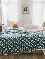 cheap -Fleece Throw Blanket Reversible Ultra Luxurious Plush Blanket Fuzzy Soft Blanket Microfiber