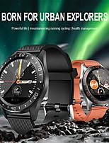 abordables -indear gt105 femmes bracelet intelligent smartwatch android ios bluetooth étanche avec tws bluetooth casque sans fil musique casque