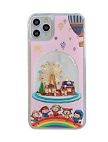 cheap -Case For Apple iPhone 11 / iPhone 11 Pro / iPhone 11 Pro Max Shockproof / Flowing Liquid / Pattern Back Cover Cartoon PC