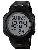 cheap -Men's Sport Watch Japanese Digital Black / Green 50 m Water Resistant / Waterproof Chronograph New Design Digital Outdoor New Arrival - Black Black / Blue Black / Gray Two Years Battery Life