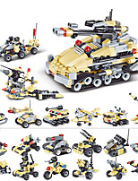 cheap -Building Blocks 200-400 pcs Military compatible Legoing Simulation Tank Plane Climbing Car All Toy Gift