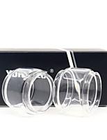 cheap -YUHETEC Fat Glass tube for smok tfv8 X-BABY / stick X8 Atomizer 2PCS