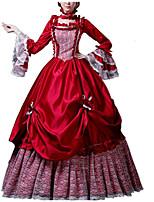 cheap -Dance Costumes Dresses Women's Performance Terylene Lace / Ruching Long Sleeve Dress