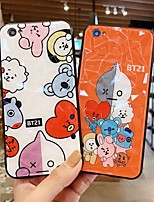 cheap -Case For Vivo Vivo Y67 / VIVO Y66 / Vivo Y53 Shockproof / Dustproof / Pattern Back Cover Animal / Cartoon PC