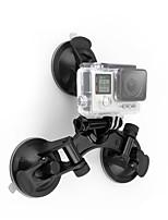abordables -Grande Fixation Ventouse Caméra Sportive Amortissement Solidité Ventouses Pour Caméra d'action Moto Hors piste Sports mécaniques ABS + PC