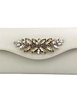cheap -Women's Chain PU Evening Bag Black / White / Gold