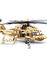 cheap -Building Blocks 439 pcs Military compatible Legoing Simulation Plane All Toy Gift / Kid's