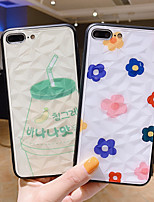 cheap -Case For Apple iPhone 11 / iPhone XS / iPhone XR Shockproof Back Cover Food / Flower PC
