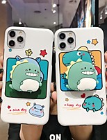 cheap -Case For Apple iPhone 11 / iPhone 11 Pro / iPhone 11 Pro Max with Stand / Ultra-thin / Pattern Back Cover Cartoon TPU